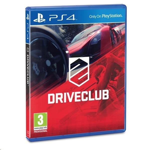 SONY PS4 hra Driveclub