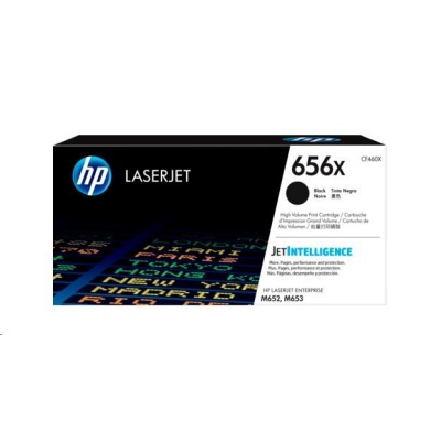 HP 656X High Yield Black Original LaserJet Toner Cartridge (CF460X)