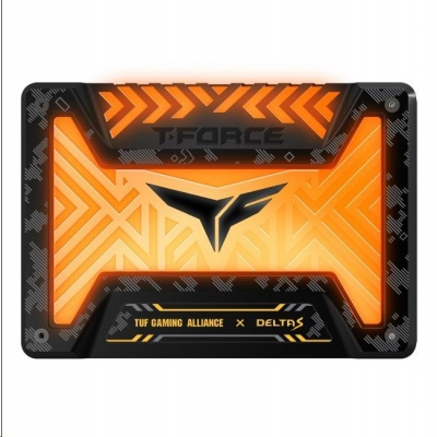 "T-FORCE SSD 2.5"" 250GB Delta S TUF Gaming RGB (12V), 3D NAND"
