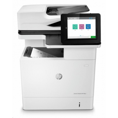 HP LaserJet Enterprise MFP M632fht (A4, 61ppm, USB, ethernet, Print/Scan/Copy, Duplex, HDD, Fax, Tray)