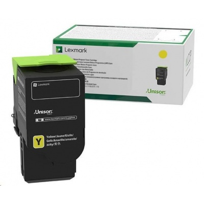 Lexmark žlutý High cap. C232HY0 Return progam pro C2525, C2425 ,C2535, MC2325, MC2425, MS2535,MC2640 - 2 300 str